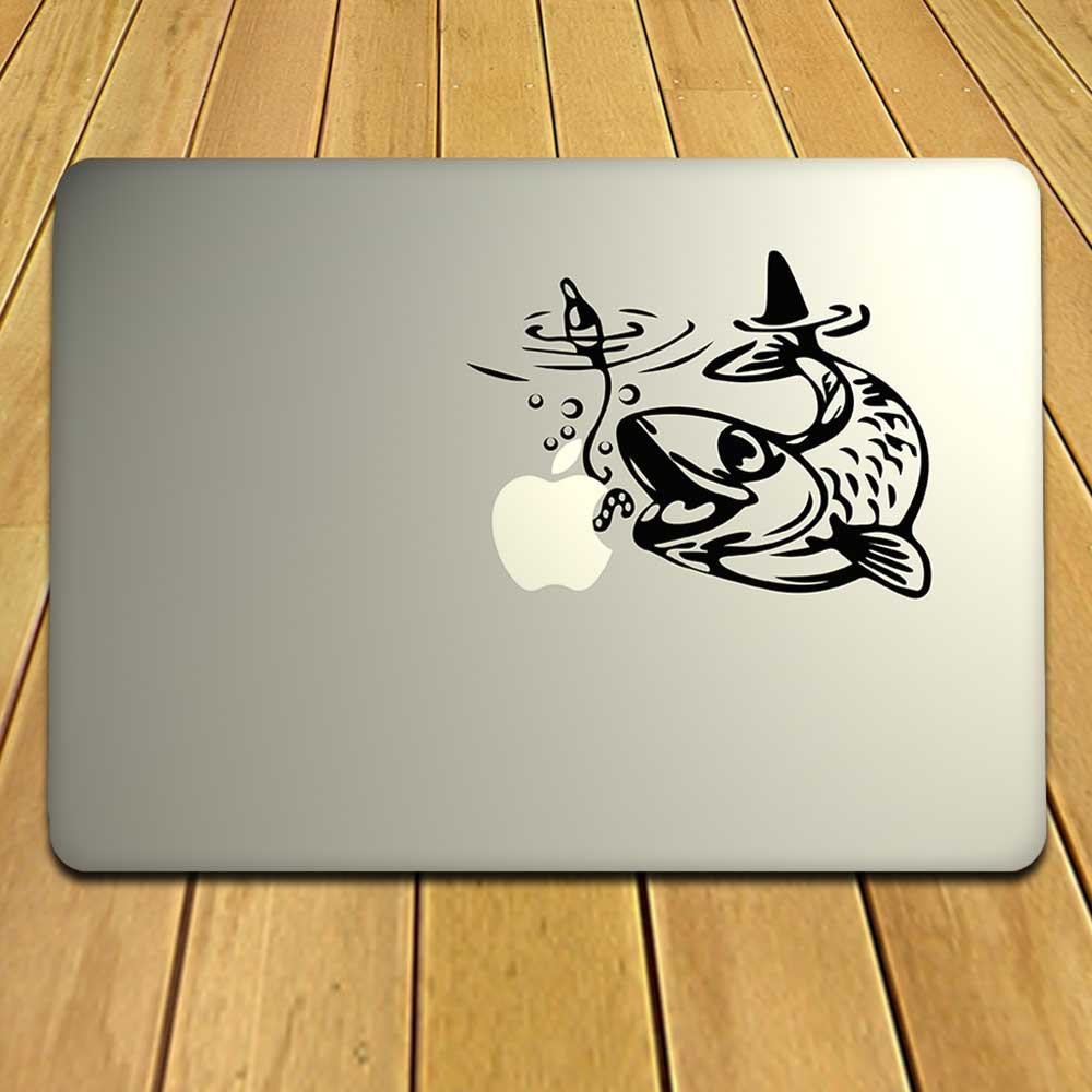 Pisces Or Fish Decal For Laptops