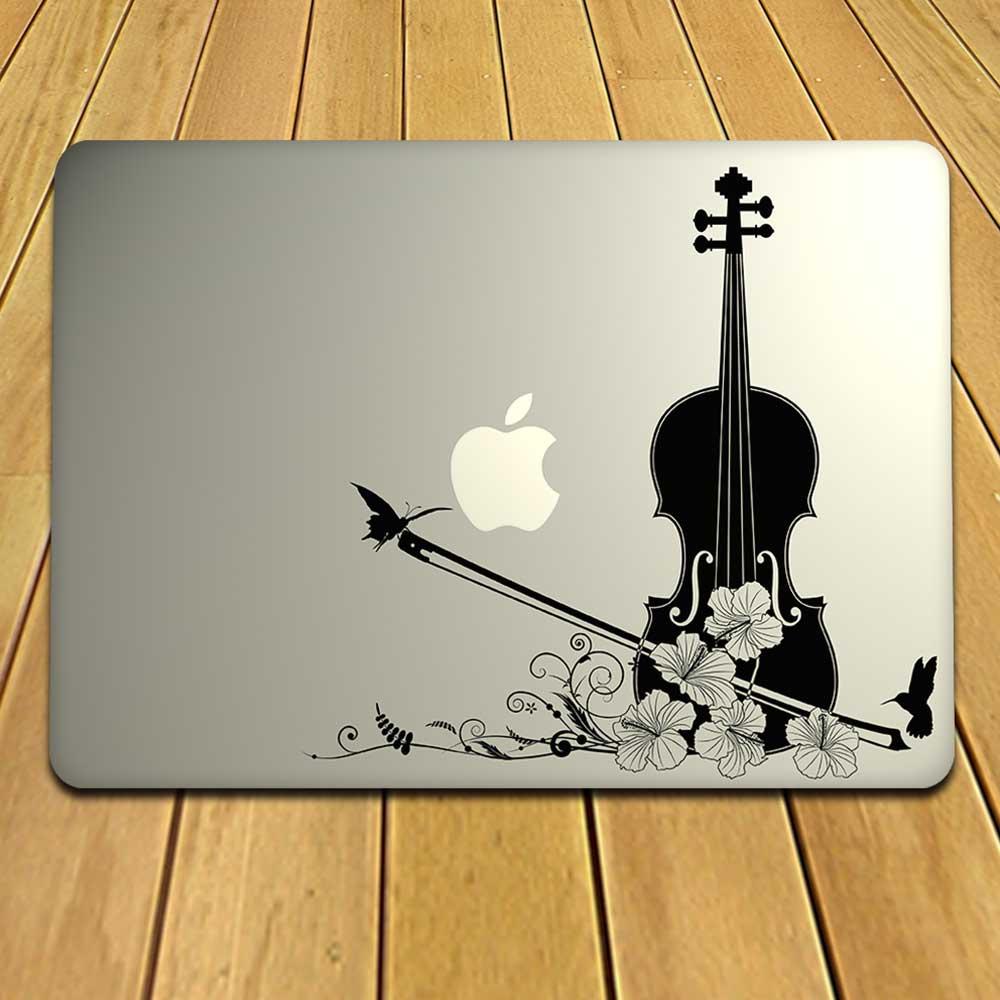Musical Instrument MacBook Decal