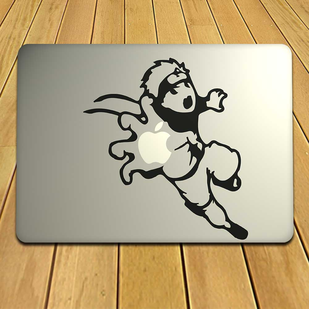 Kinetic And Exciting Decal For MacBooks