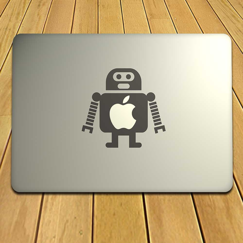 High-End MacBook Android Decal