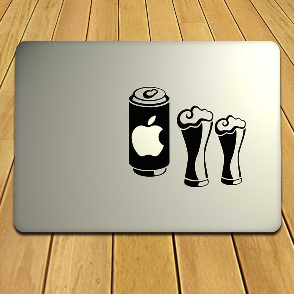 Groovy Laptop Sticker For MacBook