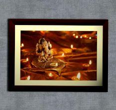Auspicious Ganesha Wall Painting