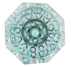Water Octagon Shape Glass Cabinet Knobs Online
