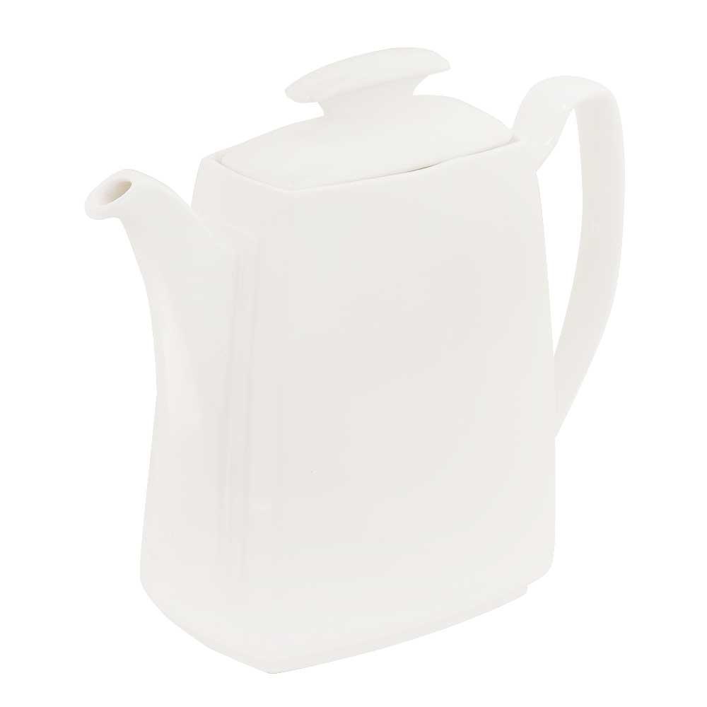 White Modern Ceramic Kettle