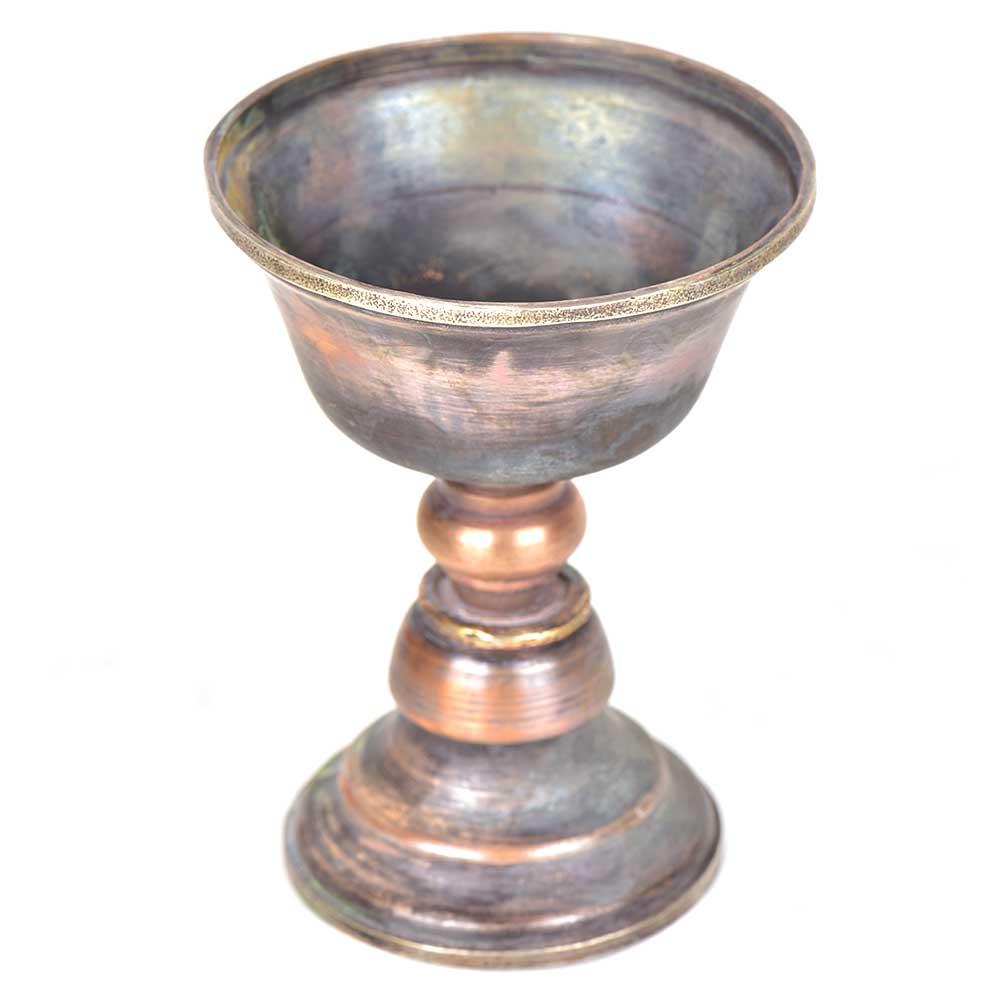 Embossed Copper Indian Incense Burner