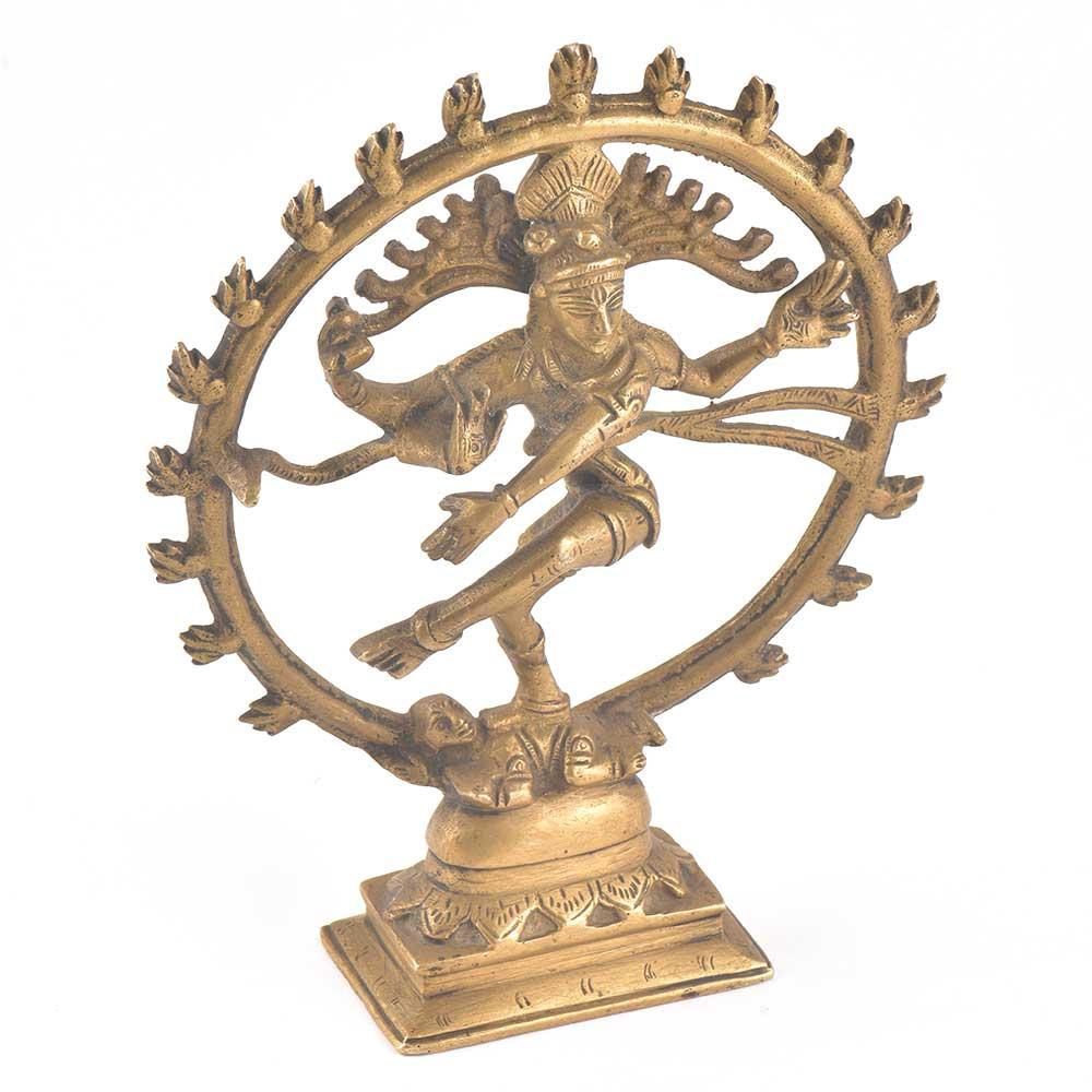 Brass Natraja Dancing Handmade Statue