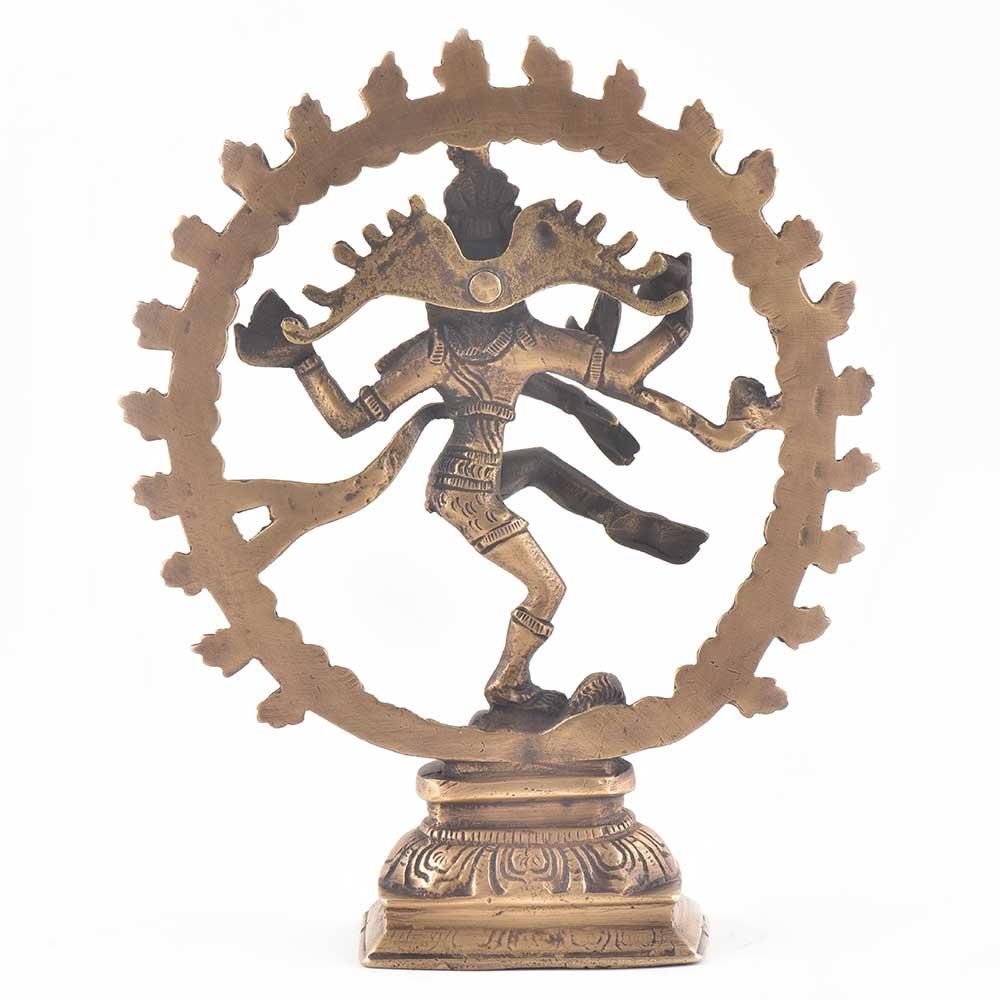 Brass Shiva Natraja Statue