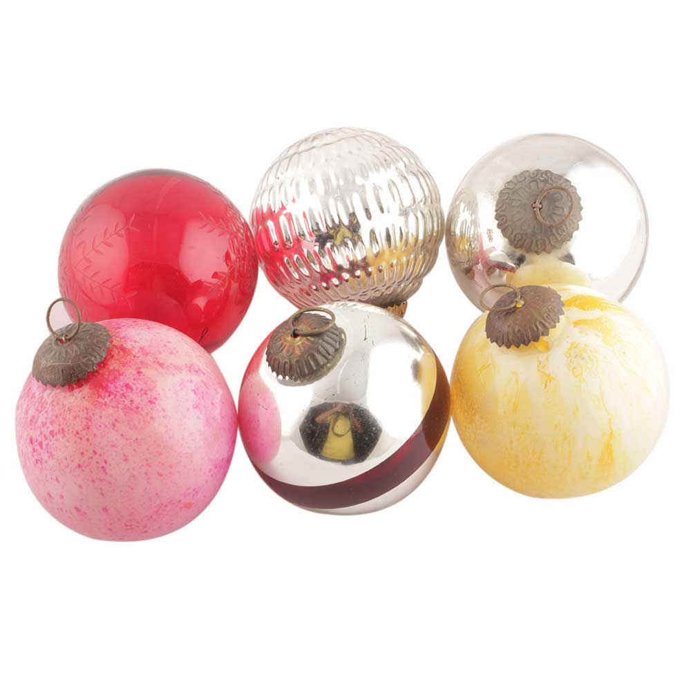 Set of 6 Pieces Christmas Ornament