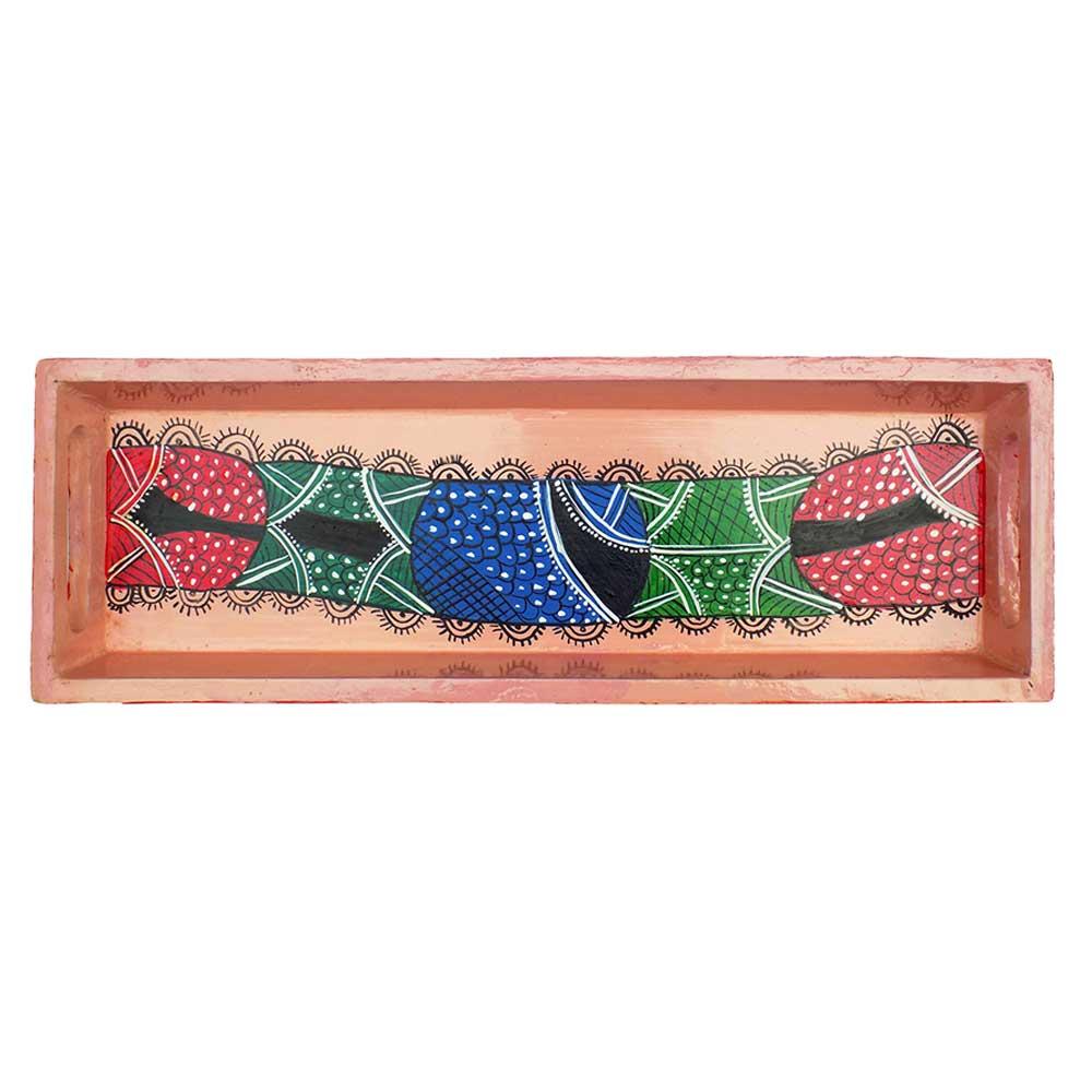 Asymmetrical Design Handmade Knick Knack Tray