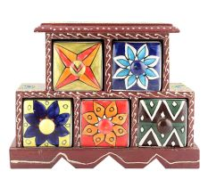 Spice Box-880 Masala Rack Container Gift Items