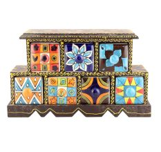 Spice Box-901 Masala Rack Container Gift Items