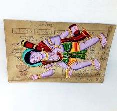 Phad On Postcard (Lord Bhairav Unframed)