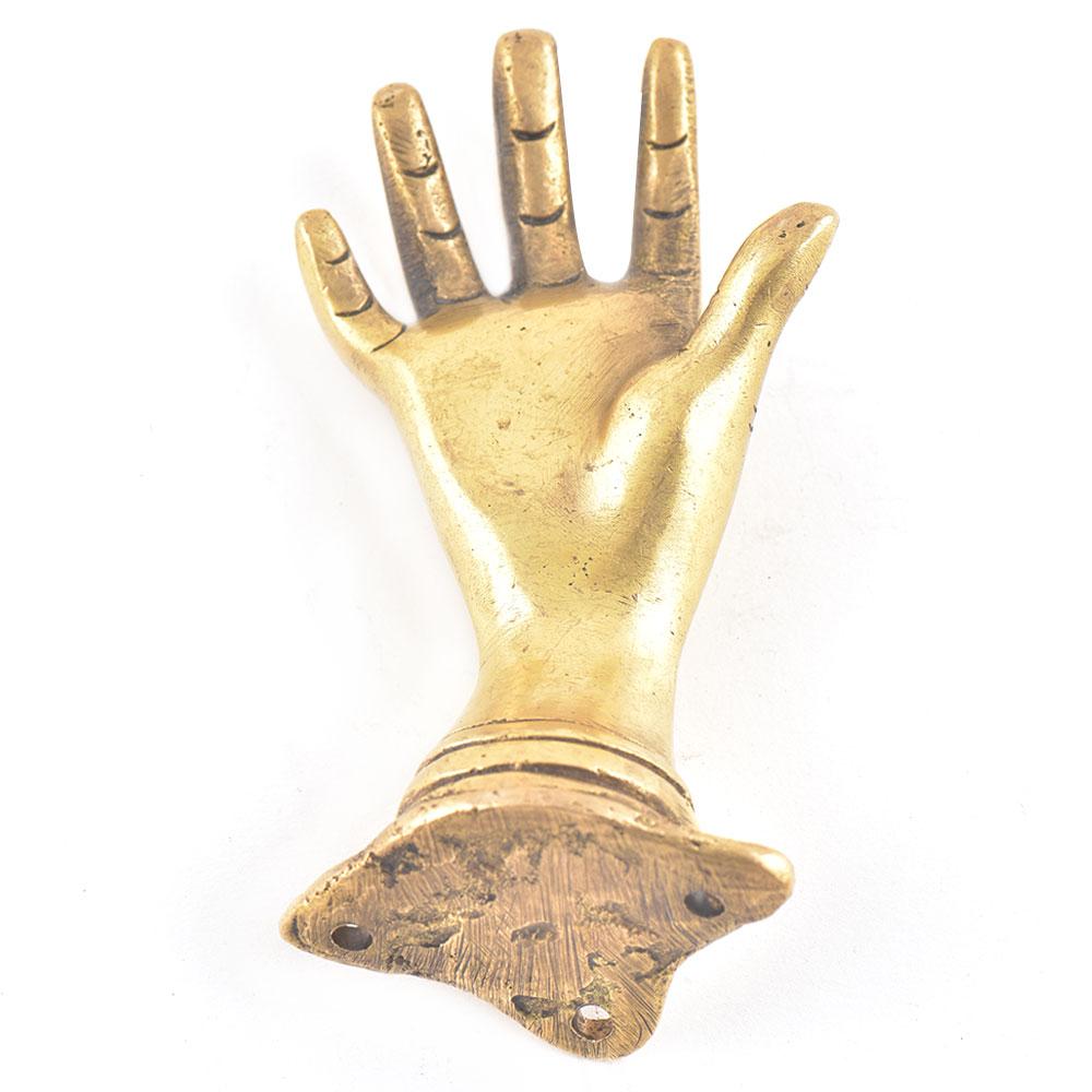 Brass Hand Door Pull Knob Door Handle