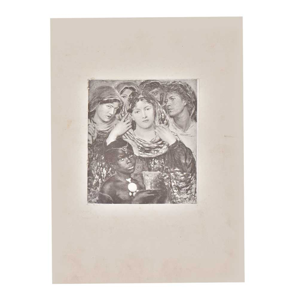 Print Of The Blessed Virgin Mary