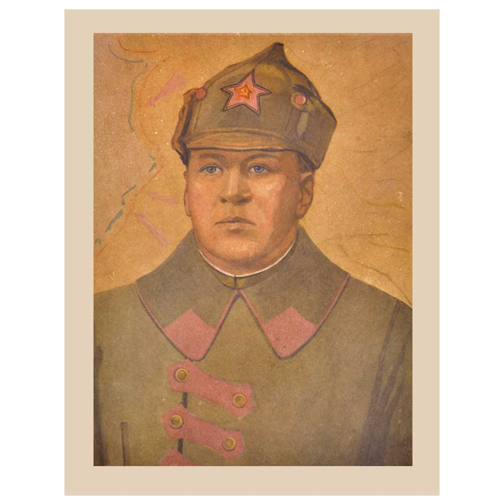 Print Of A Military Gentlemen Or Aristocrat