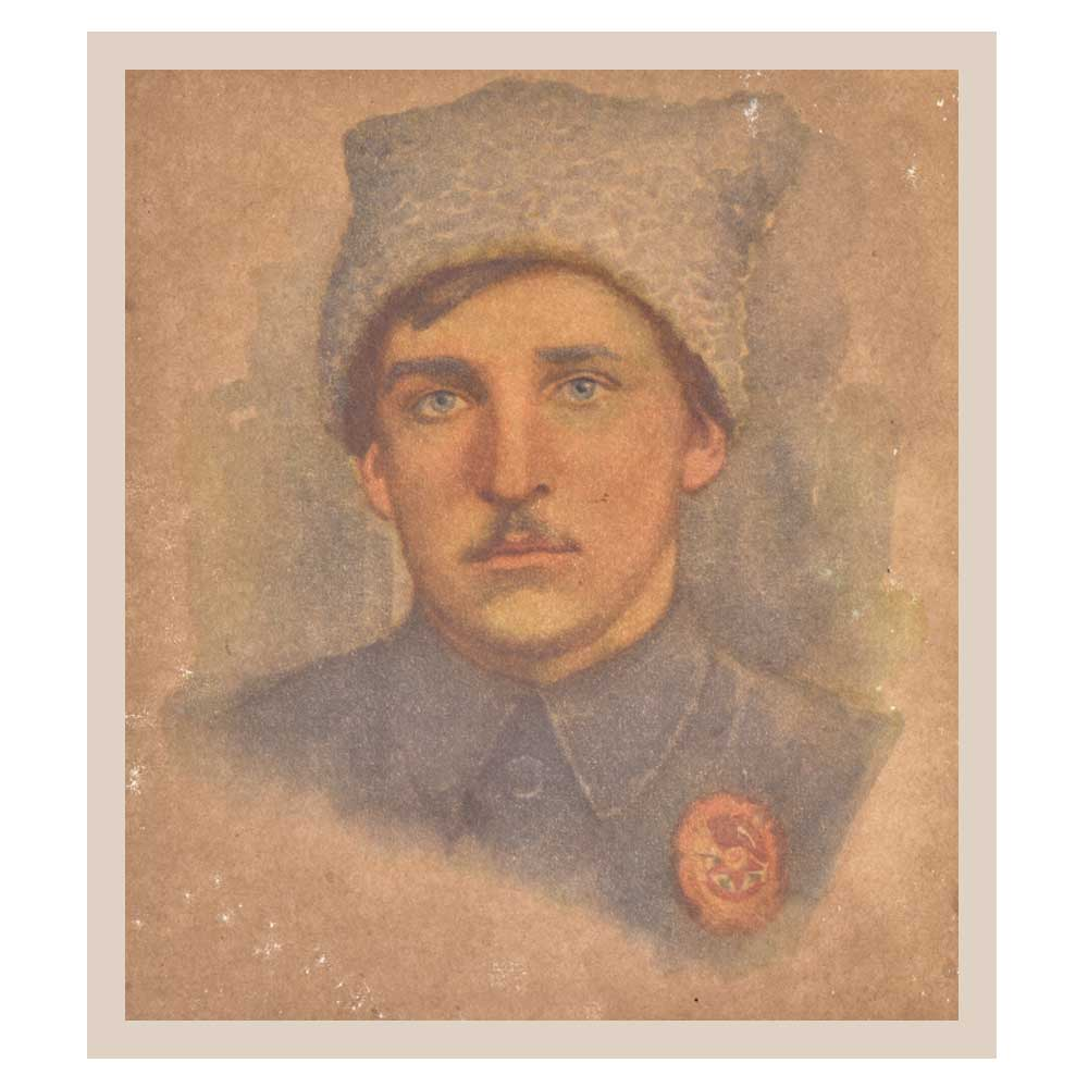 Print Of Young Russian Military Soldier