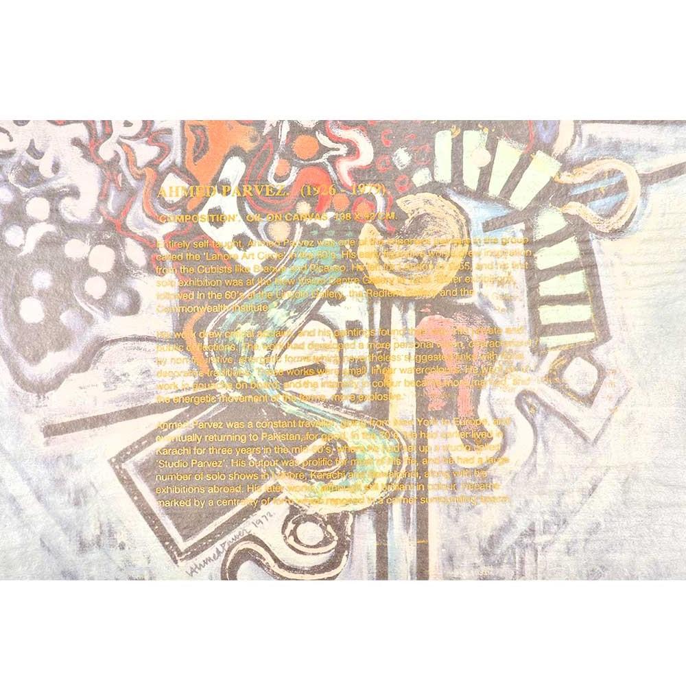 Print Of Ahmed Parvez Works Composition