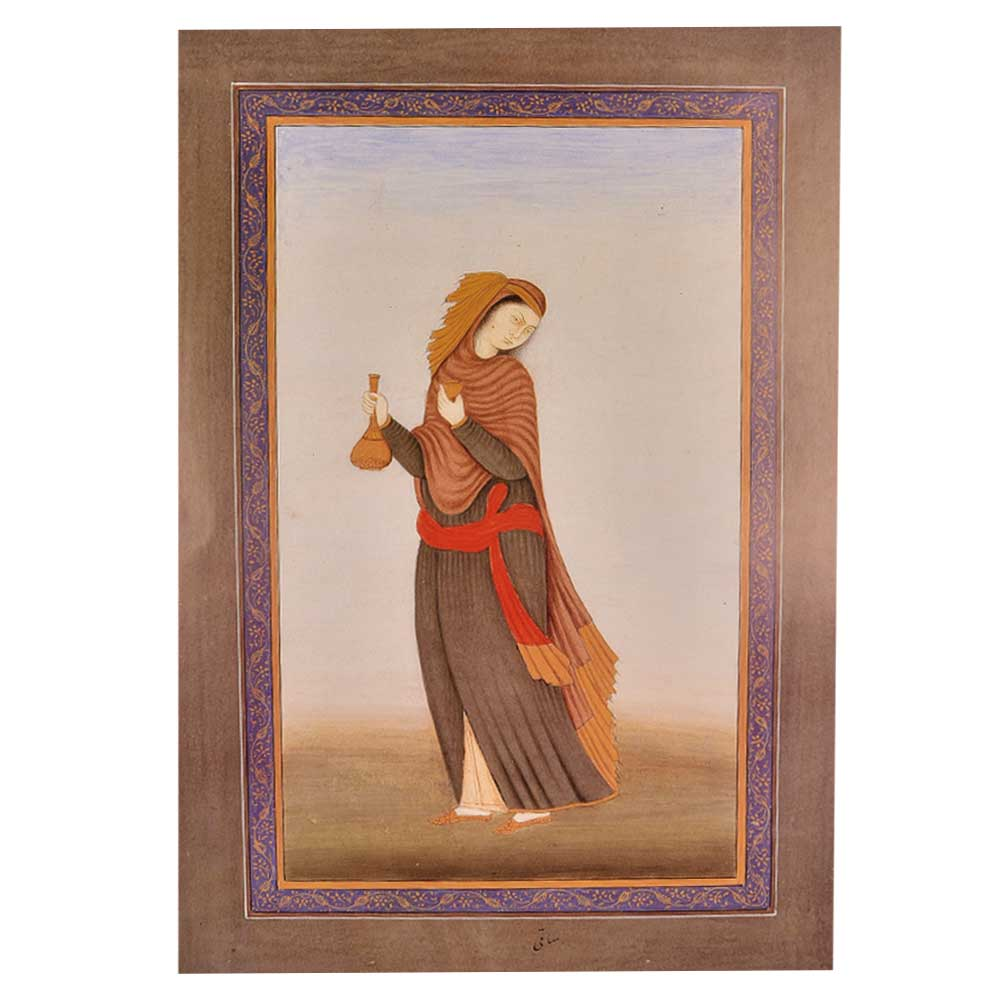 Print of Haji Muhammed Sharif Work Maiden