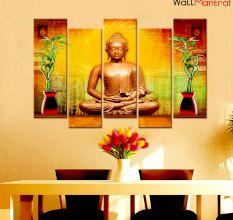 Buddha Idol canvas Wall Painting Wall Hanging