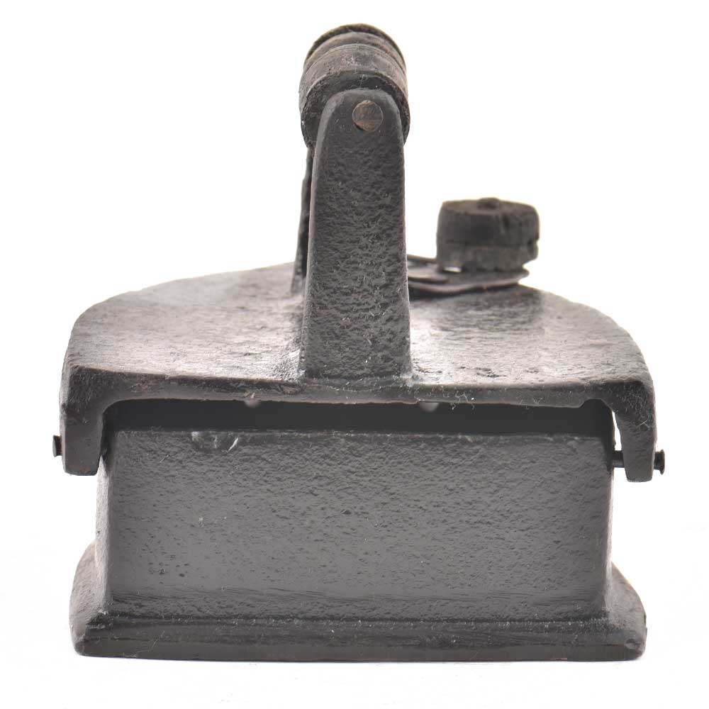 Iron Press With a Wooden Handle