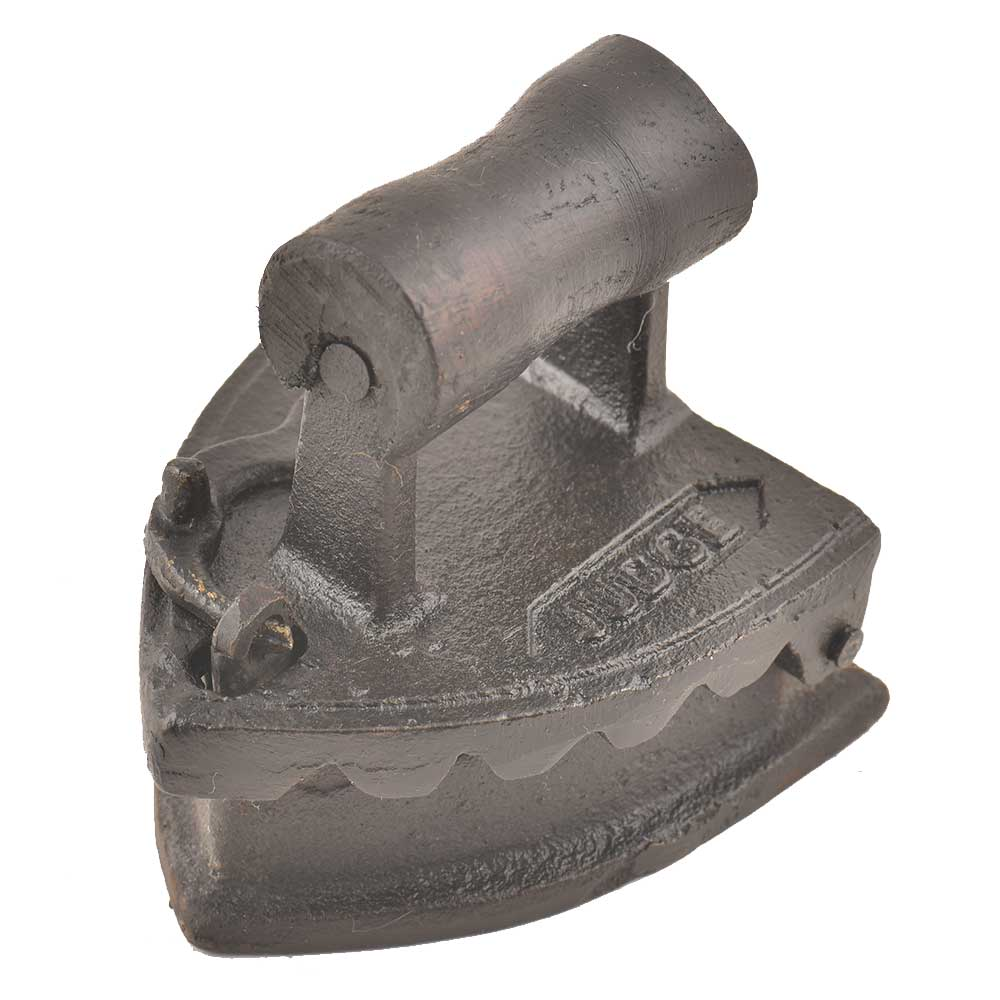 Wooden Handle Iron Press