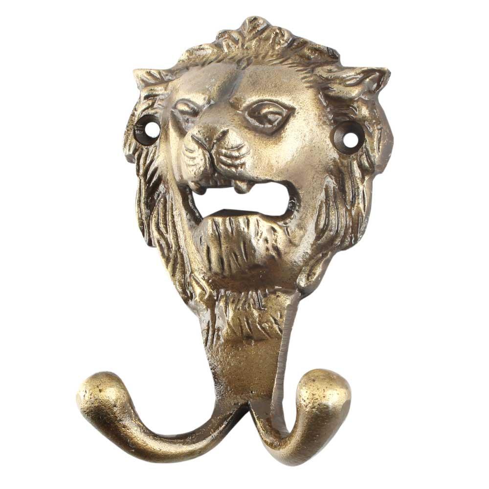Antique Lion Iron Hook Online