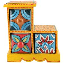 Spice Box-983 Masala Rack Container Gift Items
