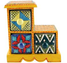 Spice Box-985 Masala Rack Container Gift Items