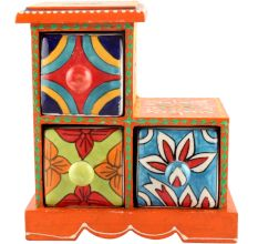 Spice Box-991 Masala Rack Container Gift Items