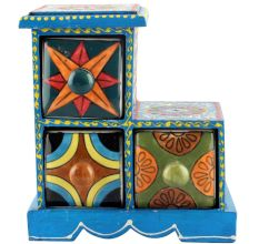 Spice Box-1002 Masala Rack Container Gift Items
