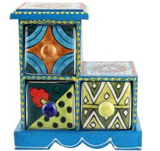 Spice Box-1003 Masala Rack Container Gift Items