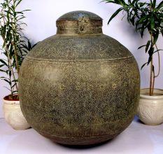 Copper planter-36.25 x 36.25 inches