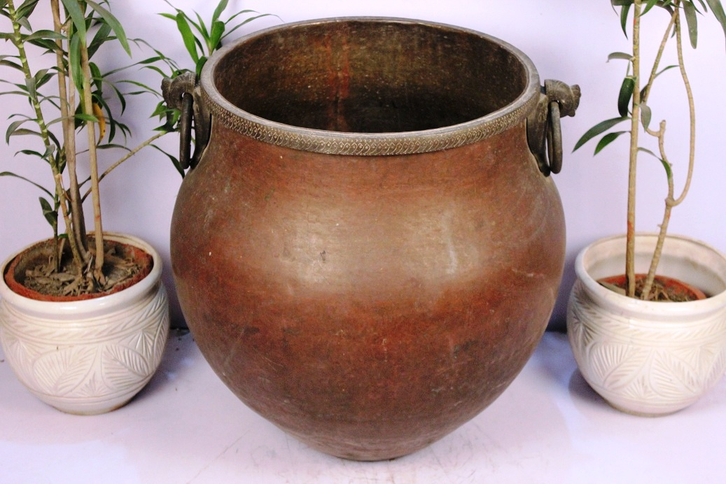 Bronze Planter-26.5 X 26.5 Inches