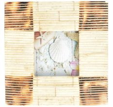 Horizontal Speed Lines Photo Frame