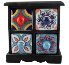 Spice Box-1192 Masala Rack Container Gift Items