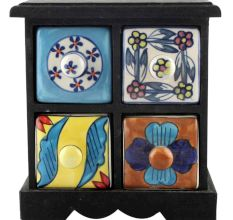 Spice Box-1203 Masala Rack Container Gift Items
