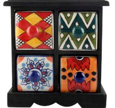 Spice Box-1206 Masala Rack Container Gift Items