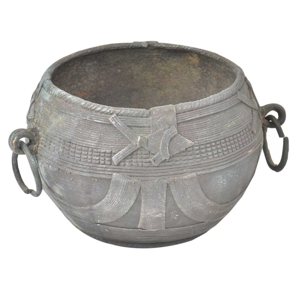 Indian Brass  Kitchen Rice Serving Bowl Pot