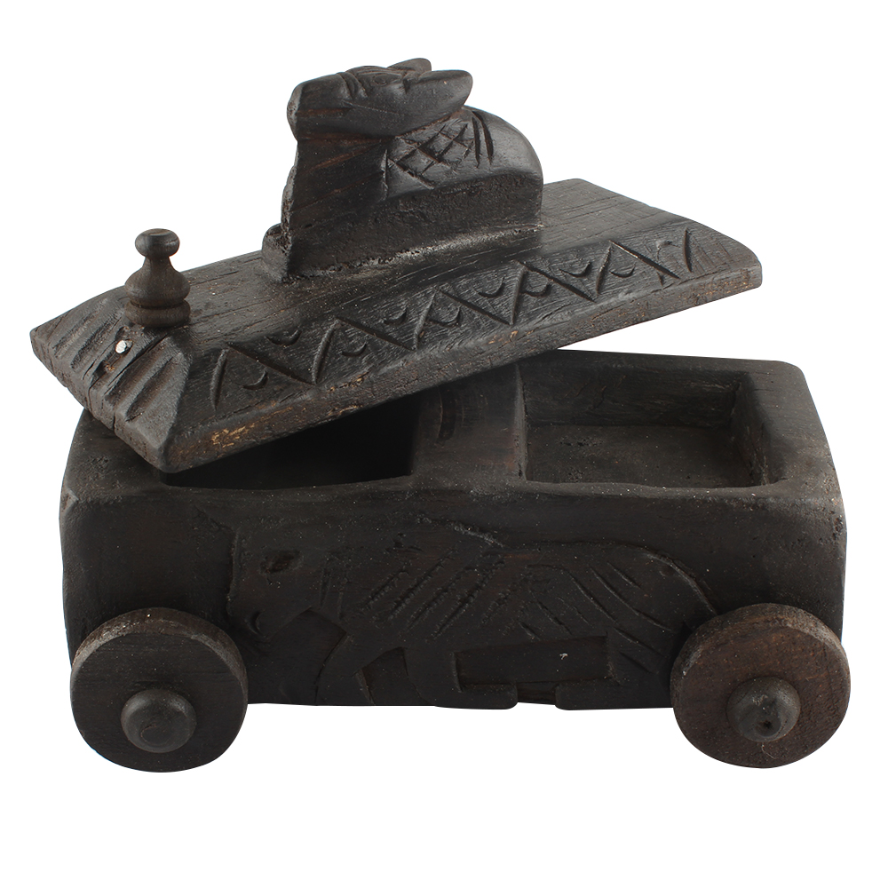 Decorative Nandi Wooden Box Highly Collectible