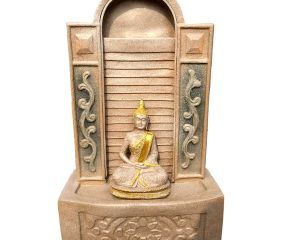 Small Wall Water Fountain with Lord Buddha Statue