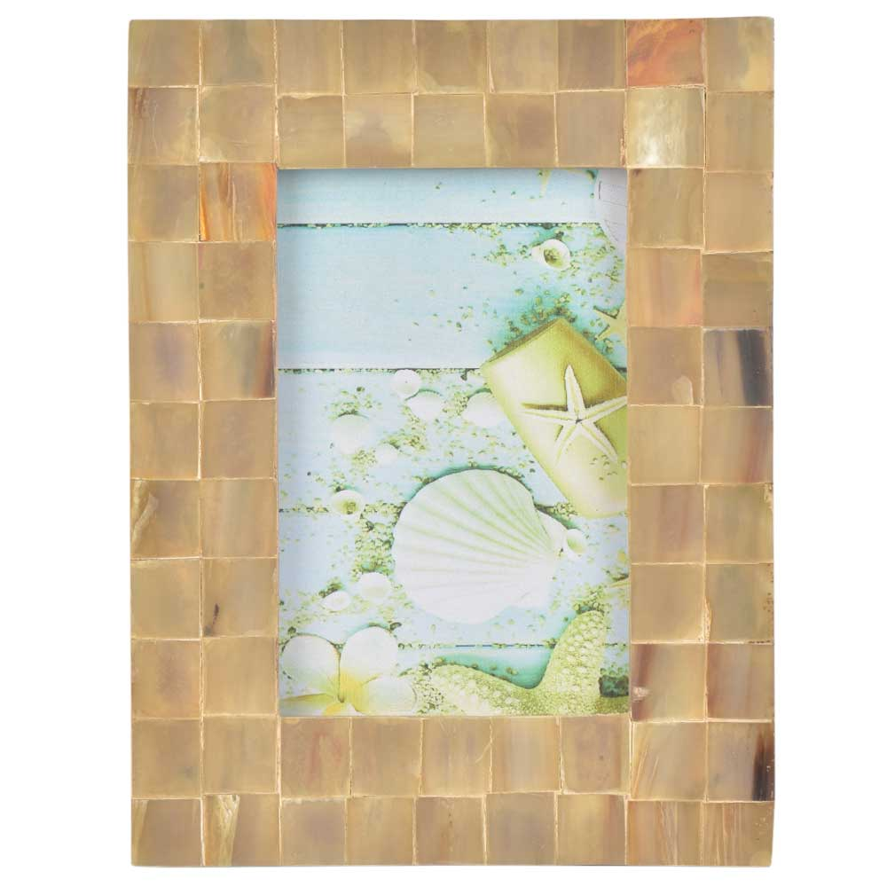 Wooden Tiles Handcrafted Home Improvement Photo Frame