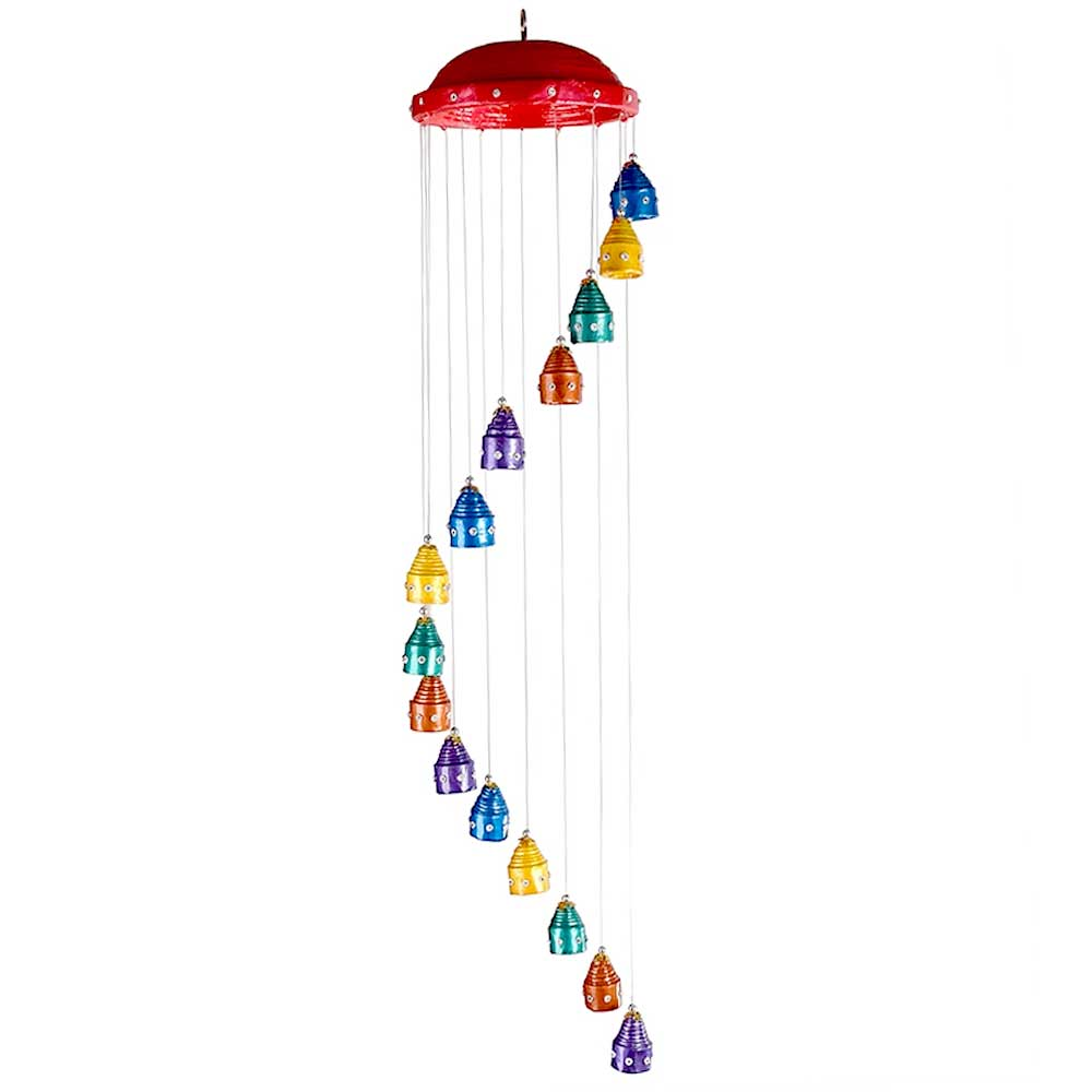 Wind Chime With 6 Top in Multicolour