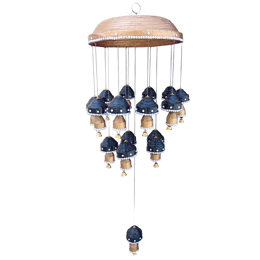Navy Blue�Paper Wind Chime Or Mini Chandelier