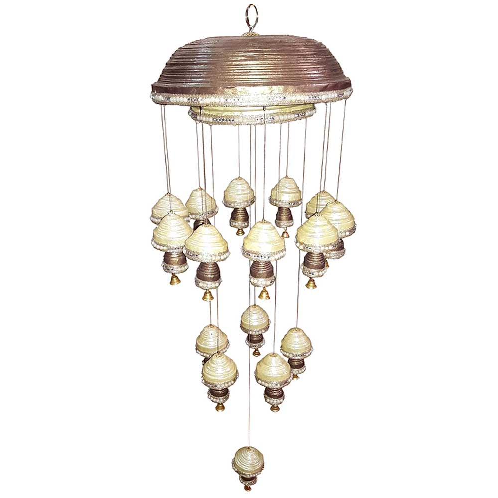White Paper Wind Chime Or Mini Chandelier