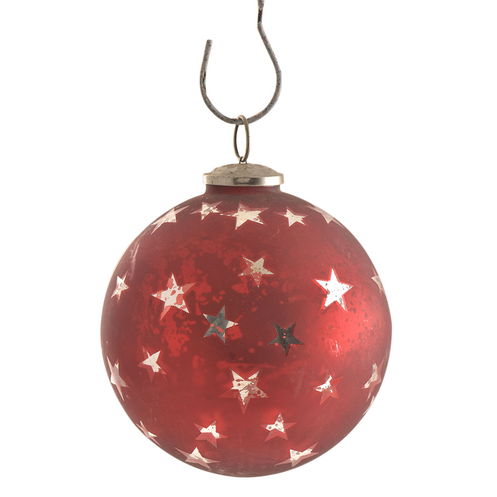 Red Star Christmas Hanging