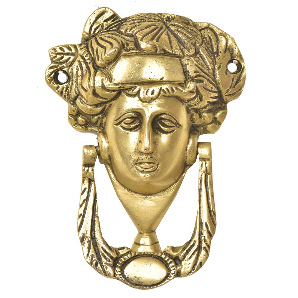 Handcrafted Brass Woman