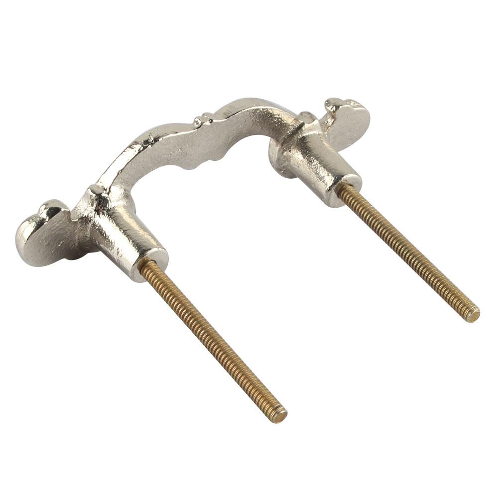 Silver Iron Bow Wardrobe Handle