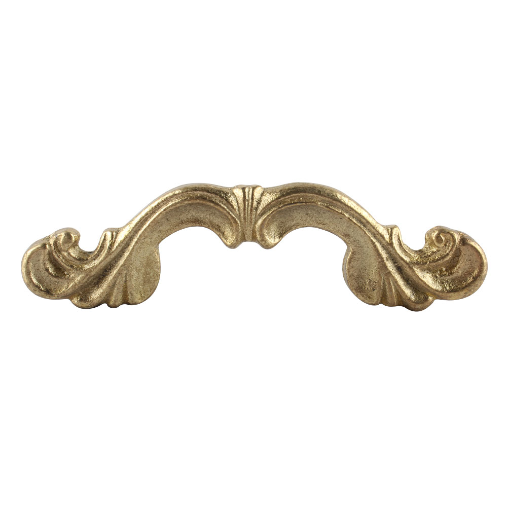 Golden Iron Bow Wardrobe Handle