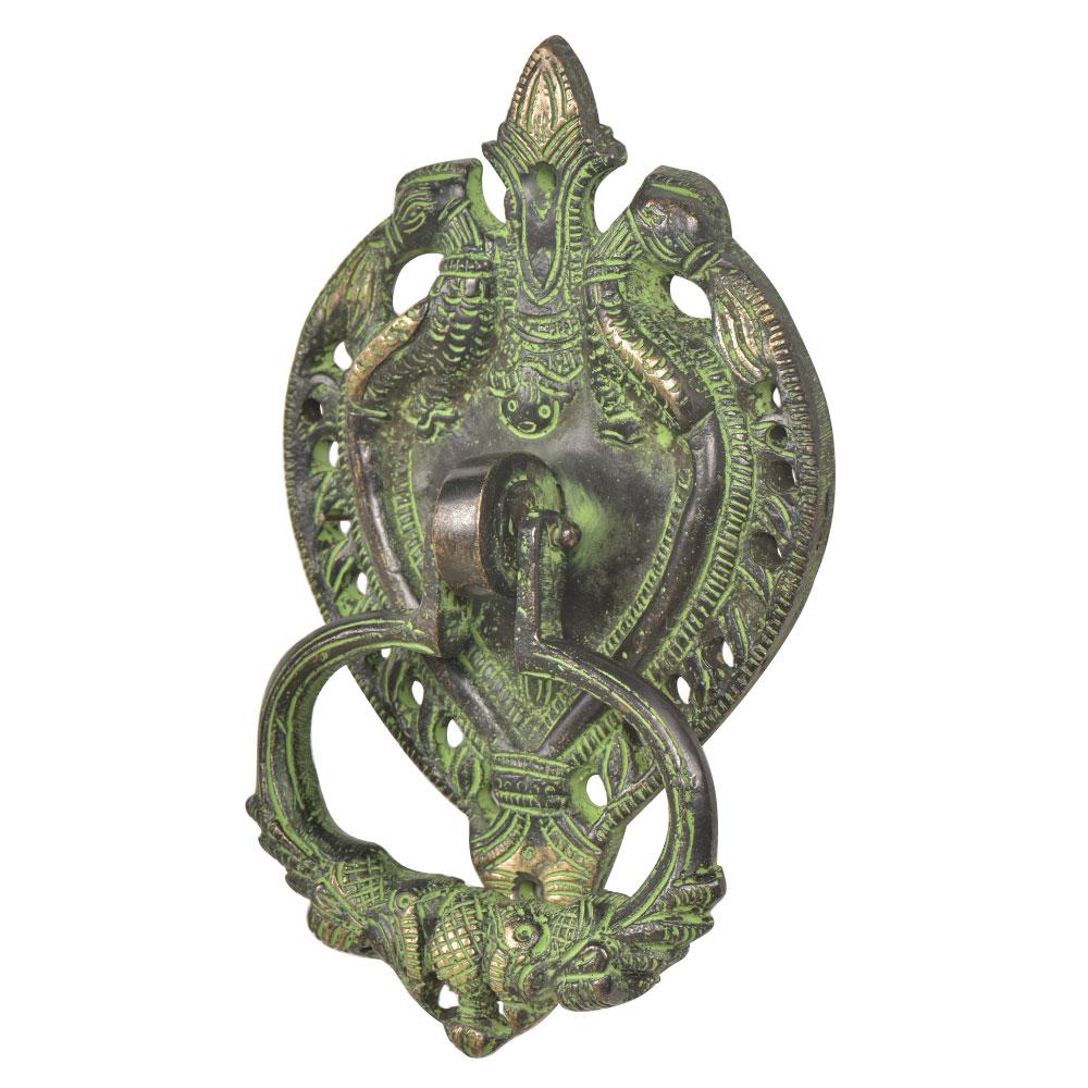 Handcrafted Ornate Brass Door Knocker