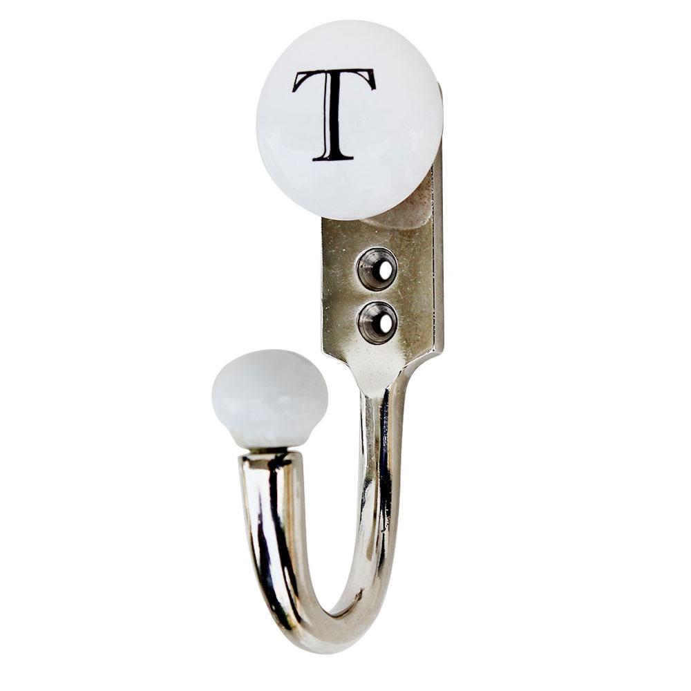 T Flat Ceramic Hooks